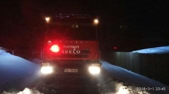 Pompierii au intervenit pentru stingerea incendiului. FOTO SAJ Constanța