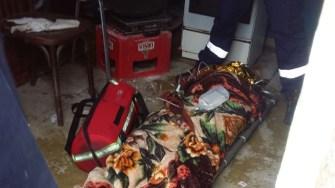 Victima a fost transportată la spital. FOTO ISU Dobrogea