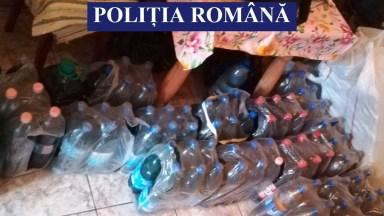 Polițiștii au confiscat o cantitate mare d emotorină. FOTO IPJ Constanța