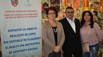 Reprezentanți ai DGASPC și CJ Constanța au fost prezenți la deschiderea târgului
