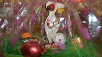 Copiii din centrele de plasament ale DGASPC au realizat ornamente de Paște