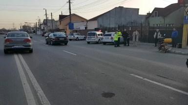 Polițiștii au efectuat cercetări la fața locului.