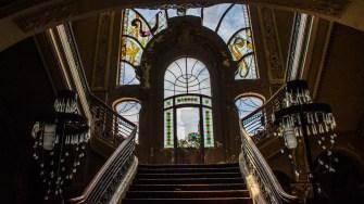 Cazinoul din Constanța, sau ceea ce a mai rămas din el. FOTO Cătălin SCHIPOR