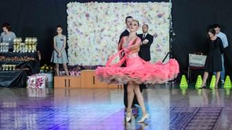 Concursul zonal de dans sportiv, Cupa Ovidiu. FOTO Cătălin SCHIPOR
