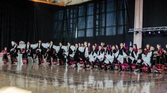Ansamblul Armânamea a evoluat pe ringul de dans al competiției. FOTO Cătălin SCHIPOR