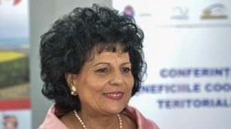 Mariana Gâju, primarul Comunei Cumpăna. FOTO Cătălin SCHIPOR