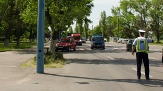 Exercițiu ISU Dobrogea în stațiunea Mamaia. FOTO Cătălin SCHIPOR