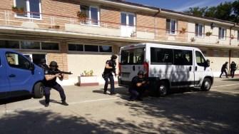Jandarmii în acțiune. FOTO IJJ Constanța