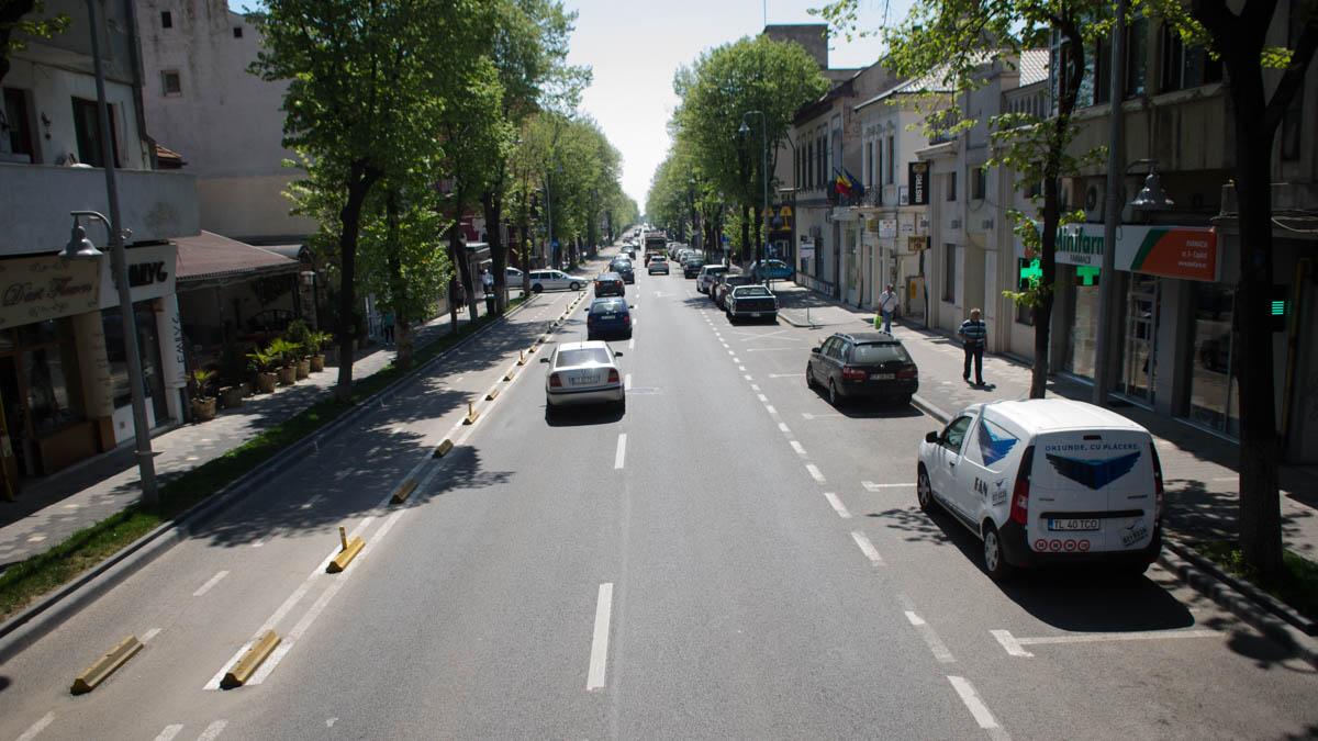 bulevardul Tomis trafic auto (1)