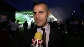 Primarul George Ionașcu la Ziua comunei Mircea Vodă. FOTO CTnews.ro