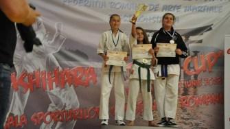 Sportivii din Ovidiu s-au impus la Cupa Getika la Karate