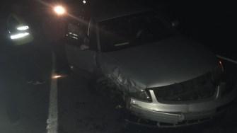 În urma impactului, cinci persoane au fost rănite. FOTO IPJ Constanța