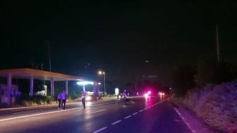 Polițiștii anchetează accidentul rutier