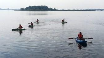 CSO Ovidiu a înființat și o secție de caiac - canoe. FOTO CSO Ovidiu