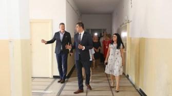 Oficialii au vizitat Centrul de Sănătate Multifuncțional de la Năvodari. FOTO CJ Constanța