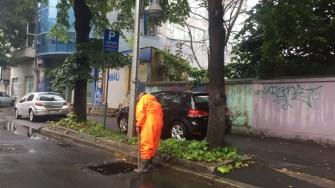 Pregătiri pentru combaterea ploilor abundente. FOTO Primăria Constanța