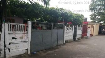 Polițiștii locali au rămas la fața locului și s-au asigurat că petrecerea de pe stradă s-a încheiat. FOTO DGPL Constanța