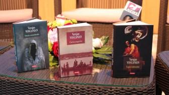 Varujan Vosganian și-a lansat ultima carte la Medgidia. FOTO Adrian Boioglu