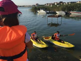 Juniorii de la kaiac-canoe se pregătesc pentru marile competiții. FOTO CTnews.ro