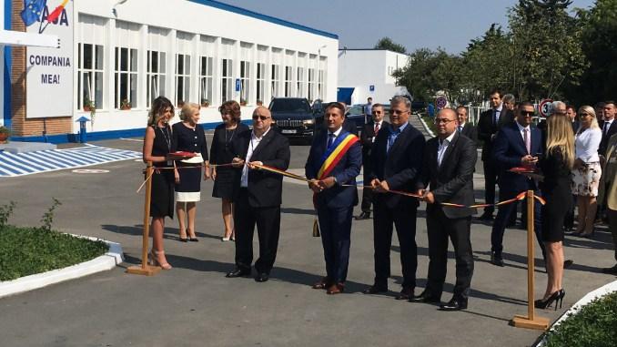 Inaugurare stație de tratare a apei RAJA Constanța. FOTO CTnews.ro
