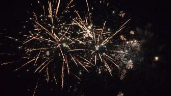 Foc de artificii. FOTO Primăria Cumpăna