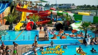 Distracție la Eforie Aqua Park