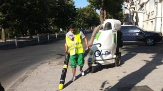 Angajații Polaris au curățat zona Peninsulară, Faleza și Portul Tomis. FOTO Polaris M Holding