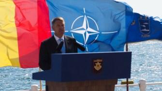 Prețedintele Klaus Iohannis la Ziua Marine 2018. FOTO Cătălin SCHIPOR