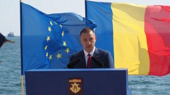 Ministrul Apărării, Mihai Vifor, la Ziua Marinei 2018. FOTO Cătălin SCHIPOR