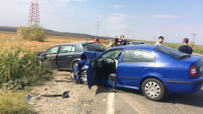 Accident la Hârșova. FOTO IPJ Constanța