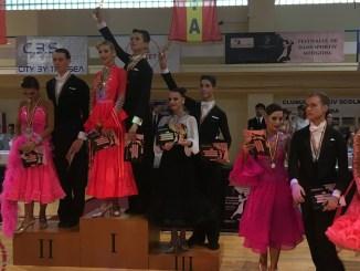 Festivalul Național de Dans Sportiv Medgidia, 2018. FOTO CTnews.ro