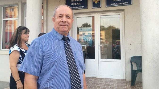 Constantin Cinpoiașu, primarul comunei Gârliciu. FOTO CTnews.ro
