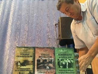 Grigore Cartianu și-a lansat cărțile la Medgidia. FOTO CTnews.ro