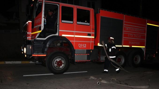 Mașină de intervenție a pompierilor de la ISU Dobrogea. FOTO Adrian Boioglu / CTnews.ro