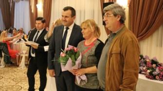 Nunta de argint, sărbătorită la Medgidia, alături de primarul Valentin Vrabie. FOTO Adrian Boioglu / CTnews.ro