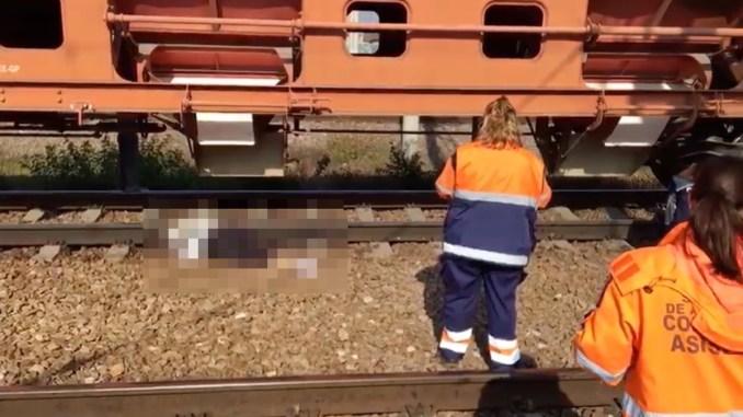 Femeie decapitată de tren la Medgidia. FOTO Captură video