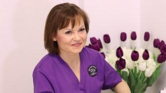 Gabriela Ștolea, terapeut înfrumusețare la New York Beauty Constanța. FOTO Adrian Boioglu