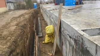 Lucrări în comuna Mircea Vodă FOTO CT NEWS