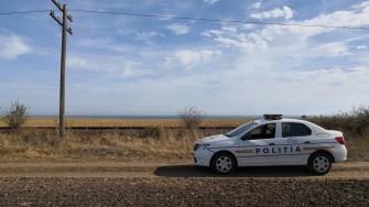 Polițiștii au ajuns la locul sesizării. FOTO Dragoș Ștefan Mantoiu