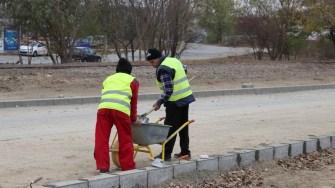 Lucrări în cadrul proiectului Via Verde în Cernavodă FOTO Adrian Boioglu