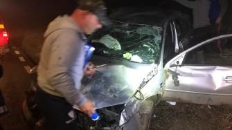 În urma accidentului, șase persoane au fost rănite