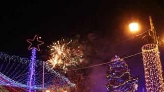 Focuri de artificii la Cernavodă. FOTO Adrian Boioglu