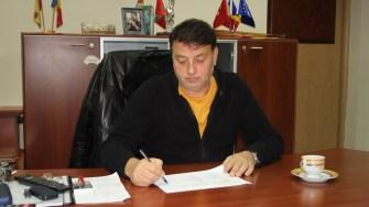 Florin Mitroi, primarul din Valu lui Traian. FOTO CTnews.ro