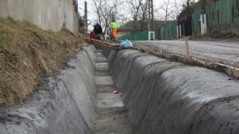 Lucrări în comuna Seimeni. FOTO CTnews.ro