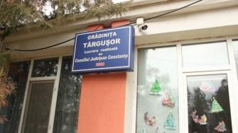 Grădinița din comuna Târgușor. FOTO CTnews.ro