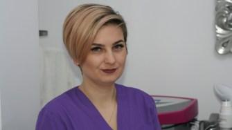 Adina Cocargeanu, kinetoterapeut la New York Beauty Salon Constanța. FOTO Ctnews.ro
