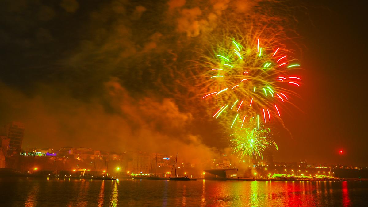 Revelion foc de artificii