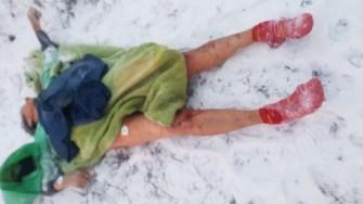 O femeie a fost găsită decedată pe malul Canalului, în Medgidia. FOTO SAJ Constanța