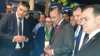 Primarul orașului Ovidiu, George Scupra a reprezentat zona de Sud Est a României la Summitul Partidului Popular European. FOTO Primăria Ovidiu