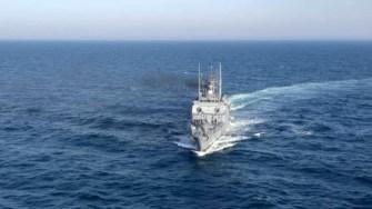 Forțele Navale s-au alăturat căutărilor pe mare a celor trei pescari. FOTO Forțele Navale